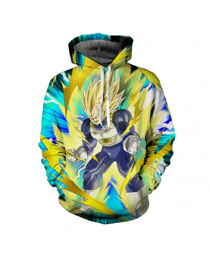 Anime Dragon Ball Z Hoodies Men/Women Sweatshirt Hooded 3D Print Brand Clothing Cap Hoody Harajuku Pullover Jumper S-6XL