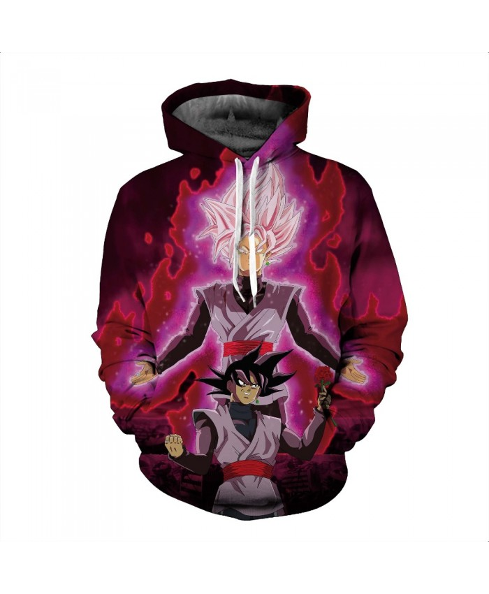 Anime Dragon Ball Z Son Goku Cosplay Costumes Hoodies Sweatshirts 3D Printing Unisex Adult man/women Clothing