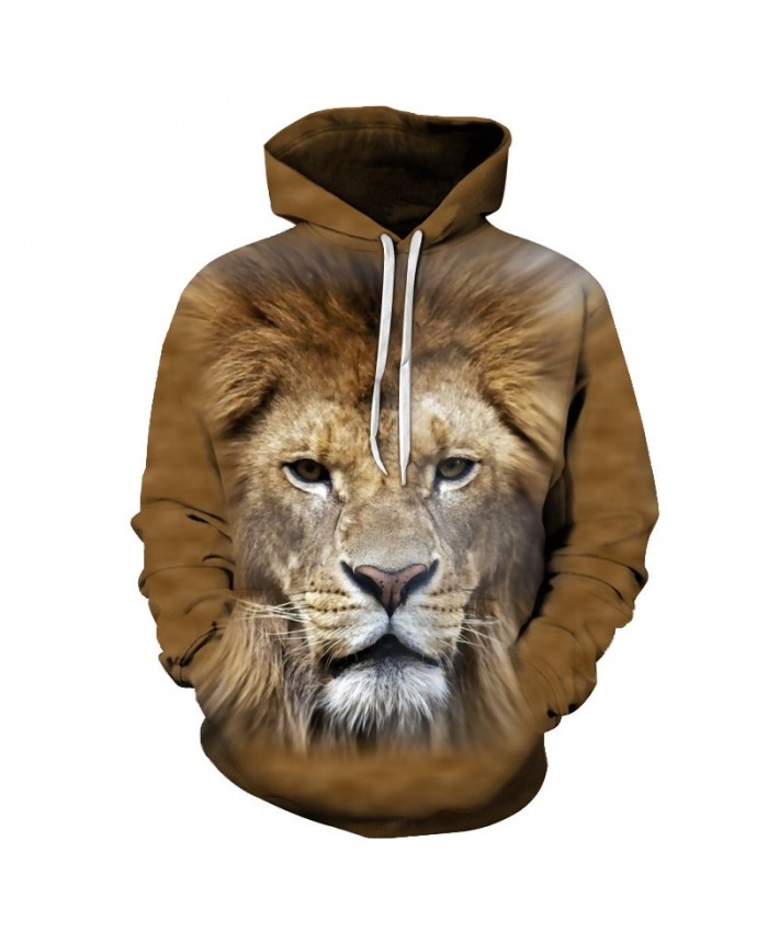 Anime Lion Sweatshirts Men Women Hoodies Mens Tracksuits 3D Pullover Printed Hoody Autumn Coat Streetwear Drop Ship