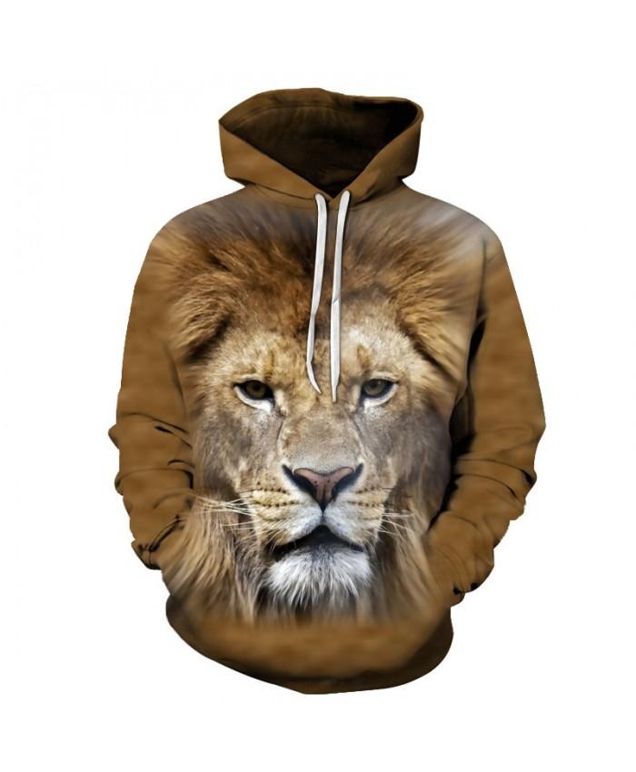 Anime Lion Sweatshirts Men Women Hoodies Mens Tracksuits 3D Pullover Printed Hoody Autumn Coat Streetwear Drop Ship