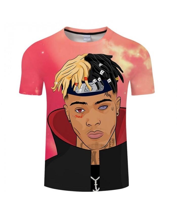 Anime Men T shirt Harajuku tshirts Summer Casual Short Sleeve Cosplay O-neck Tops Boys Tees Fashion New Drop Ship