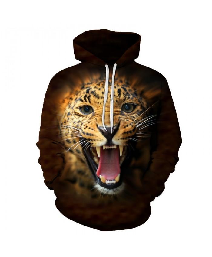 Anime Panther Sweatshirts Men Hoodies Funny Tracksuit 3D Printing Pullover Streetwear Coat Fashion Hoody Drop Ship