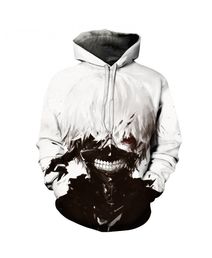 Anime Tokyo Ghoul Printed 3D Hoodies Sweatshirts Men Women Coats Hooded Autumn Streetwear Hip Hop Tracksuits Fashion Pullover