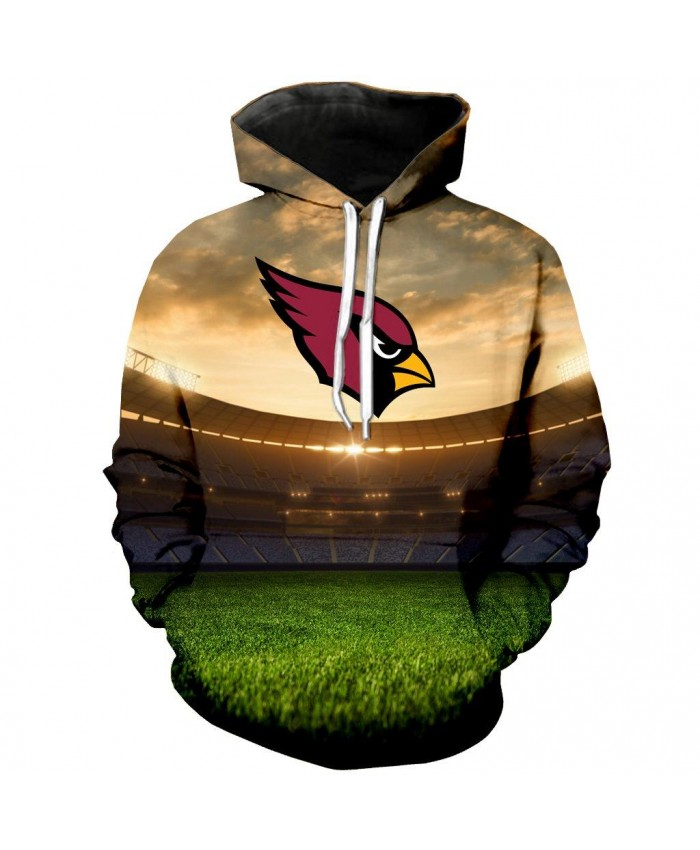 Arizona Cardinals 3D Hoodie Arizona Cardinals Hoodie NFL Arizona Cardinals Apparel Cool Sweatshirt Streetwear