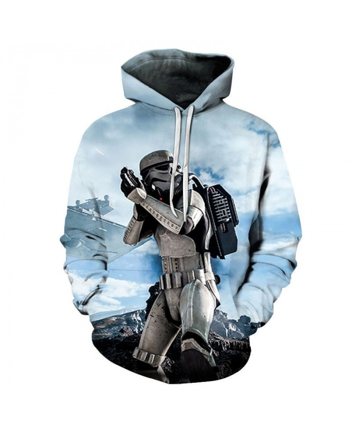 Armor Fight Star Wars 3D Printed Mens Pullover Sweatshirt Clothing for Men 2021 New Custom Pullover Hoodie Drop Ship