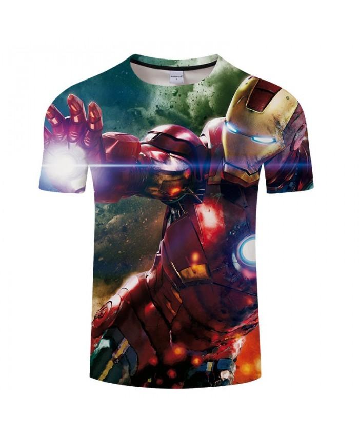 Avengers Endgame 3D Print T Shirt Men tshirt Summer Casual Short Sleeve O-neck Crossfit Shirt Tops&Tees Drop Ship