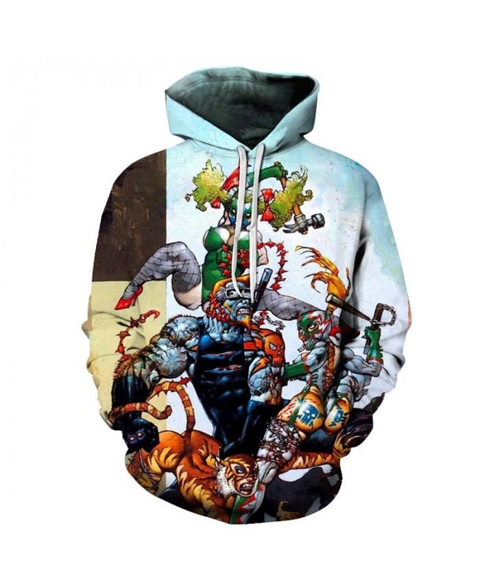 Axe Hacking 3D Printed Men Pullover Sweatshirt Clothing for Mens Custom Pullover Hoodie Streetwear Sweatshirt Casual