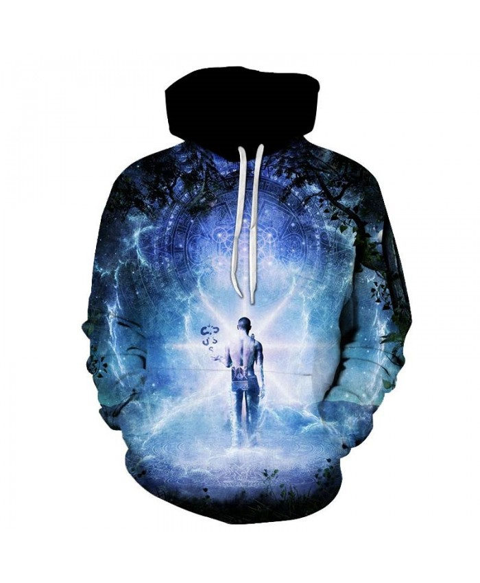 Back Of The Fairy Men hoodies Pullover Tracksuits Pullover Sweatshirt Casual Hoodie Long Sleeve Men Tops Sell