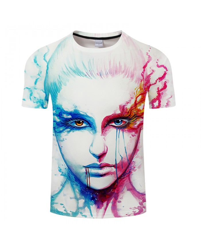 Bipolarity By JojoesArt 3D Print t shirt Men Women tshirt Summer Casual Short Sleeve O-neck Tops&Tees Loose Camisetas Drop Ship