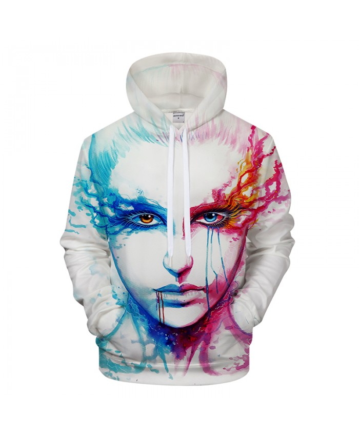 Bipolarity by 3D Hoodies Sweatshirts Men Women Hoodie Drop Ship Tracksuits Casual Pullover Drop Ship