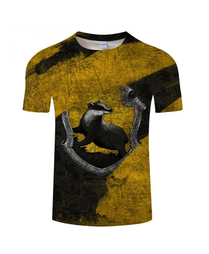 Black And White Animal Movie 3D Printed Men tshirt Crossfit Shirt Casual Summer Short Sleeve Male tshirt Brand Men