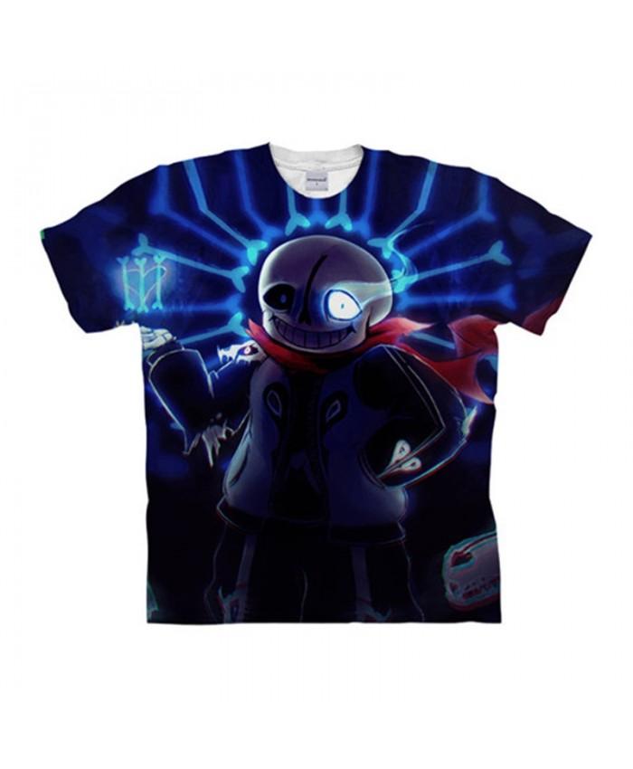 Black And White Eyes Undertale 3D Print Men tshirt Crossfit Shirt Casual Summer Short Sleeve Male tshirt Fitness