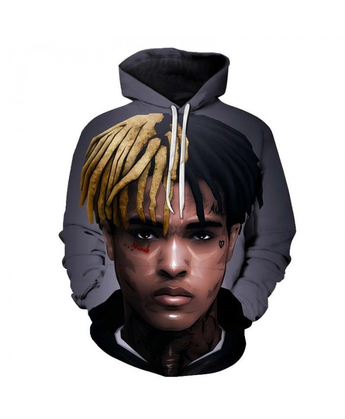 Black And Yellow Hair Mens Pullover hoodies Streetwear Sweatshirt Casual Tracksuits Hoodie Tops Long Sleeve Men
