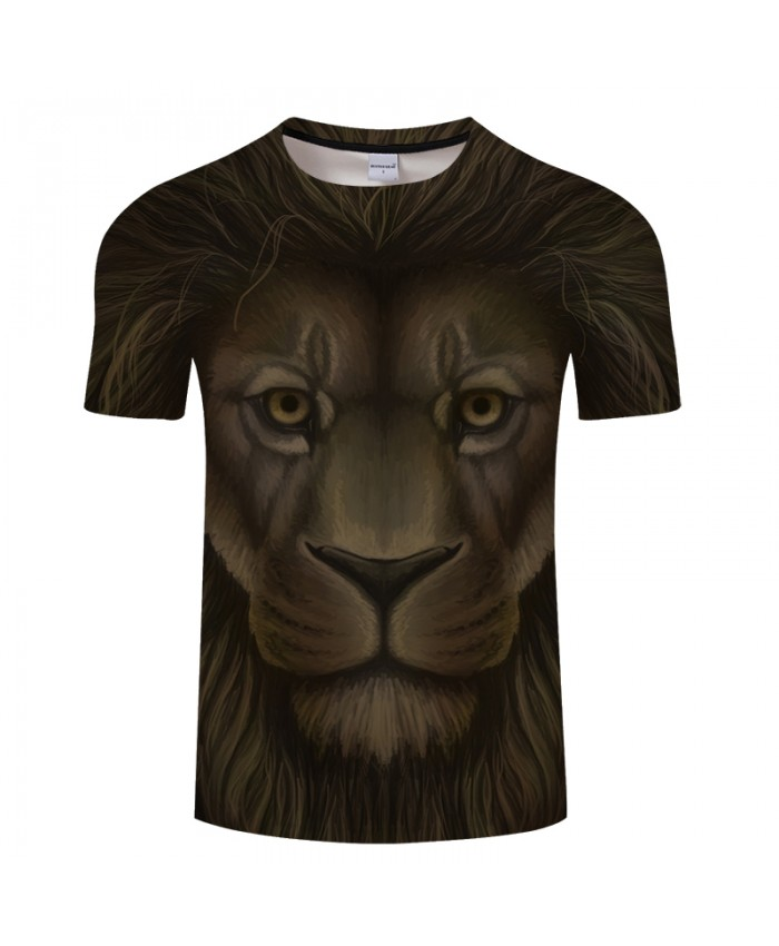 Black Lion 3D Print t shirt for Men and Women 2018 Summer O-neck Short Sleeve Tops Tees Drop Ship Plus Size