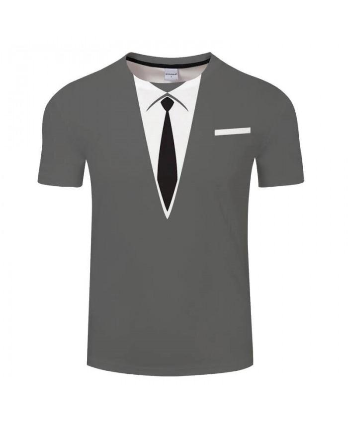 Black Tie 3D Printed Men Anime tshirt Crossfit Shirt Casual Short Sleeve Male T Shirt Men Brand O-neck Tops&Tee