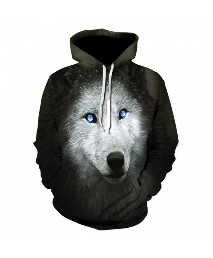 Black Wolf Hoodies Hoodie Men Women Hip Hop Autumn Winter Hoody Tops Casual Brand 3D Wolf Hoodie Sweatshirt Dropship