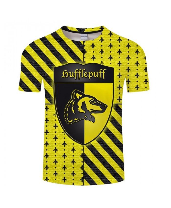 Black Yellow Badger Movie 3D Printed Men tshirt Crossfit Shirt Casual Summer Short Sleeve Male T Shirt Men Brand Men