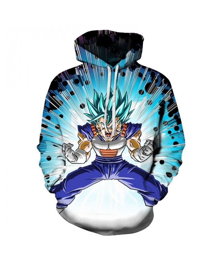 Blue Dragon Ball Hoodies Men Women 3D Hoodie Dragon Ball Z Sweatshirts Anime Fashion Casual Tracksuits Boy Jackets Hooded Pullover