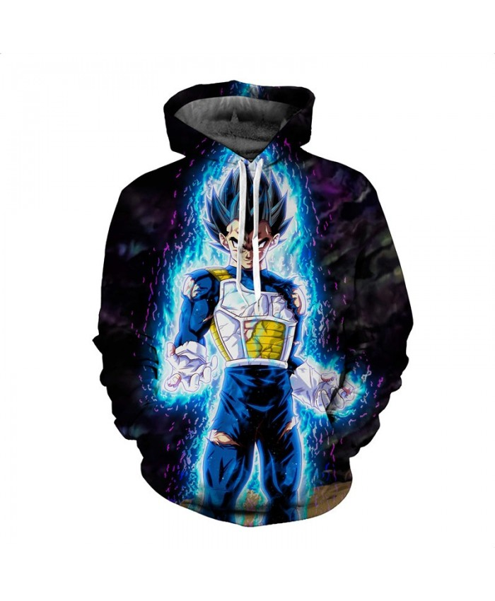 Blue Dragon Ball Hooides Men Women 3D Sweatshirts Autumn Novelty Pullover Fashion Tracksuits Plus 5XL Hooded Jackets Male Brand