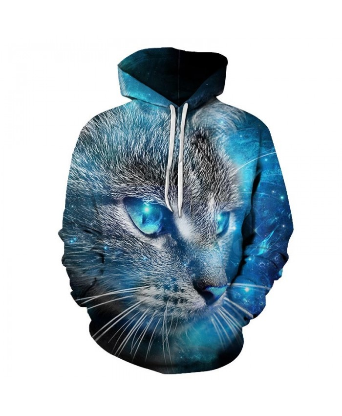Blue Eyes Cat 3d Printed Mens Pullover Sweatshirt Pullover Casual Hoodie Men Fashion Hoodie Streetwear Sweatshirt 3dcoolshop Com