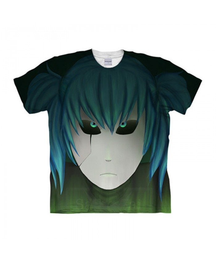 Blue Eyes Sally Face 3D Print Men tshirt Crossfit Shirt Anime Casual Short Sleeve Summer Male tshirt Men Tops&Tee
