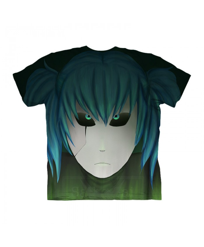 Blue Eyes Sally Face 3d Print Men Tshirt Crossfit Shirt Anime Casual Short Sleeve Summer Male Tshirt Men Tops Tee At 3dcoolshop Com