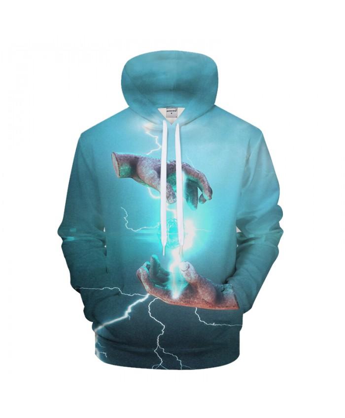 Blue Hoodies 3D Goku Hoody Print Sweatshirt Men Anime Hoodie Autumn Tracksuit Streatwear Coat Pullover Jacket Dropship