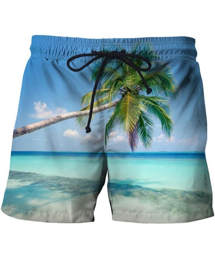 Blue Poster Men Beach Shorts 3D Print Men Shorts Casual Cool Summer Men Elastic Waist Male Fitness Shorts Drop Ship