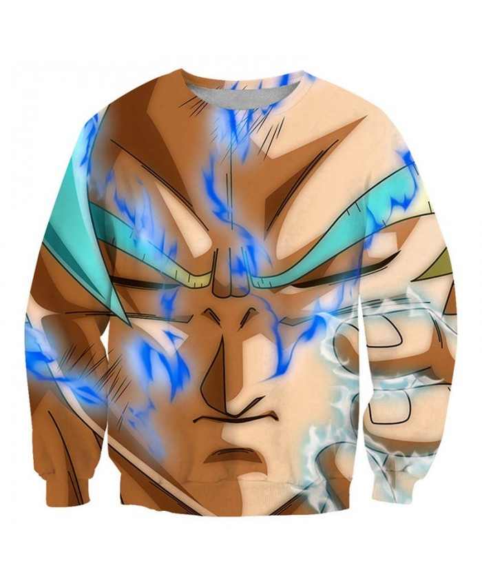 Blue Smoke Dragon Ball 3D Printed Mens No Cap Pullover Sweatshirt Pullover Casual Men 2021 New Streetwear Sweatshirt
