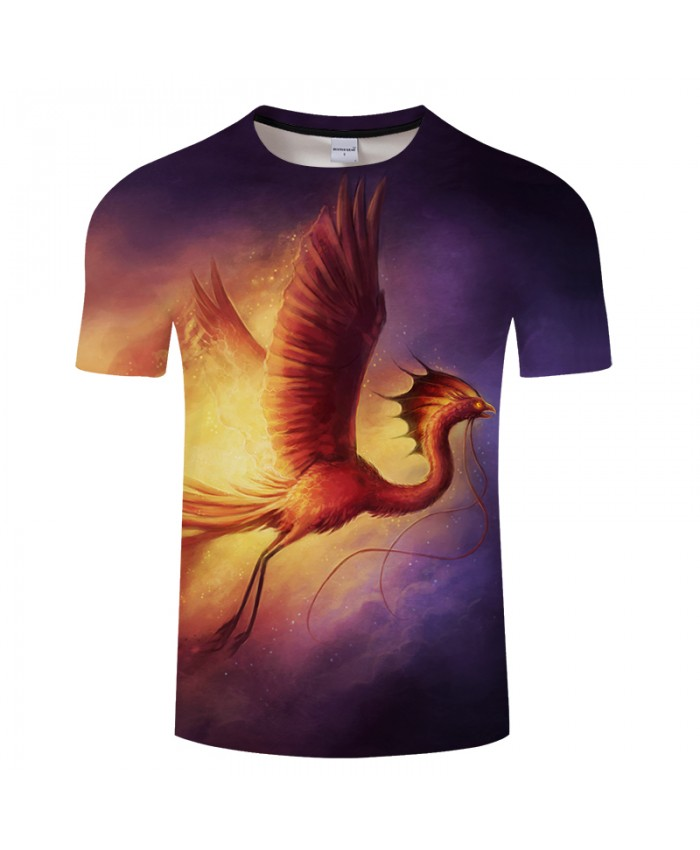 Born from the Ashes By JojoesArt 3D Print t shirt Men Women tshirt Summer Loose Short Sleeve O-neck Tops&Tee Plus Size Drop Ship