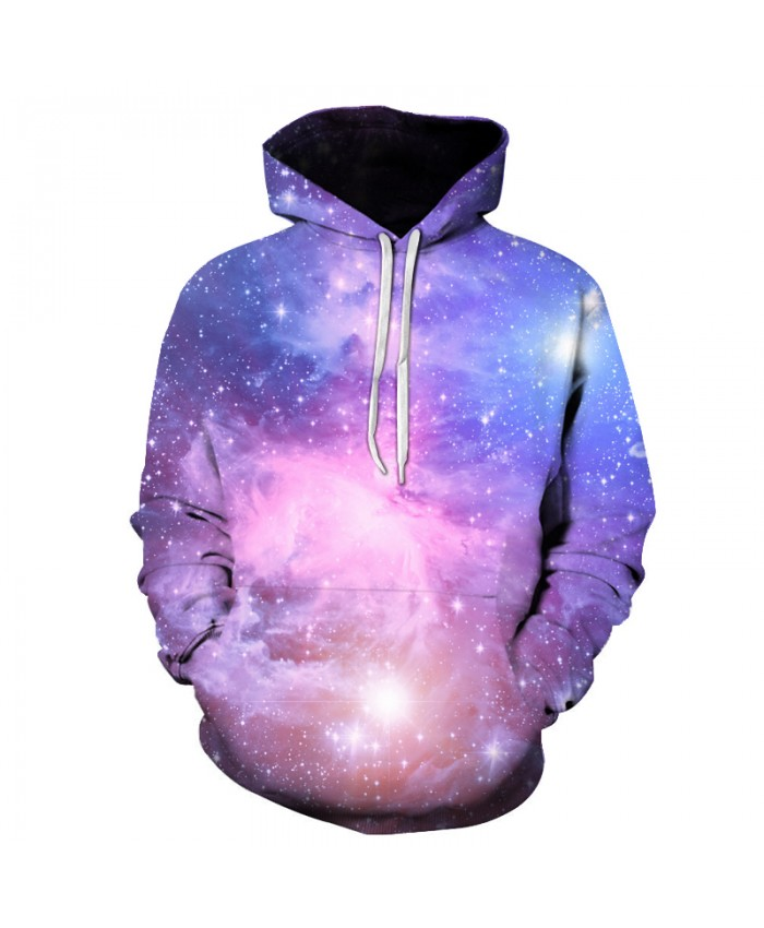 Brand Galaxy 3D Hoodies Men Women Sweatshirts Large Hooded Outwear Printed Fashion Space Sweatshirt Hooded Tracksuits Male