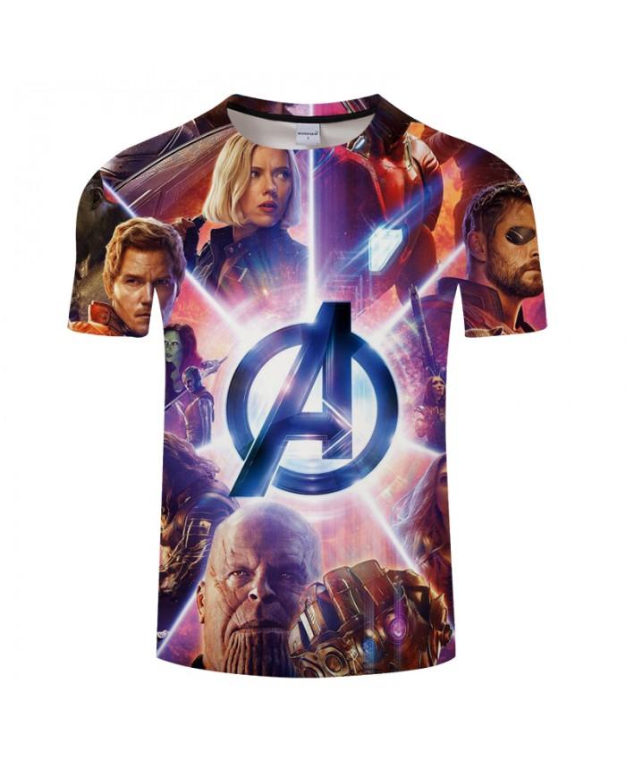 Bright Avenger alliance 3DPrint t shirt Men tshirt Summer ShortSleeve Casual Streetwear Top&Tee Camiseta New DropShip