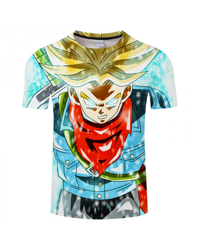 Bright Color 3D Print T shirt Men Dragon Ball Summer Cartoon ShortSleeve Boy Tops&Tees Tshirt Camiseta Drop Ship
