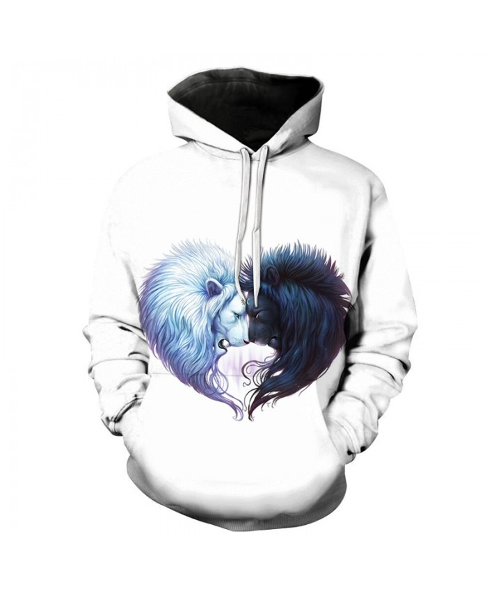 Brotherhood by JoJoes Lion Print Men WOMEN Hoodies Quality 3D Unisex Sweatshrit Tracksuit Pullover Casual Streetwear
