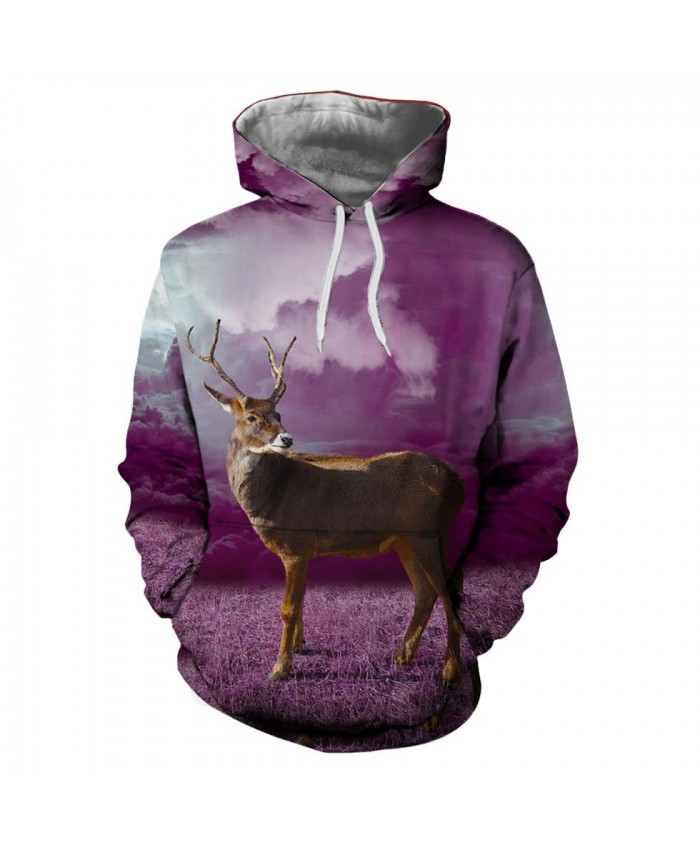 Bucks Christmas Hoodies 3D Sweatshirts Men Women Hoodie Print Couple Tracksuit Hooded Hoody Clothing
