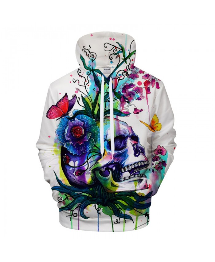 Candid by Pixie cold Art Skull 3D Hoodies Sweatshirts Men Hoodie Unisex Pullover Brand Tracksuits Hoody Drop Ship