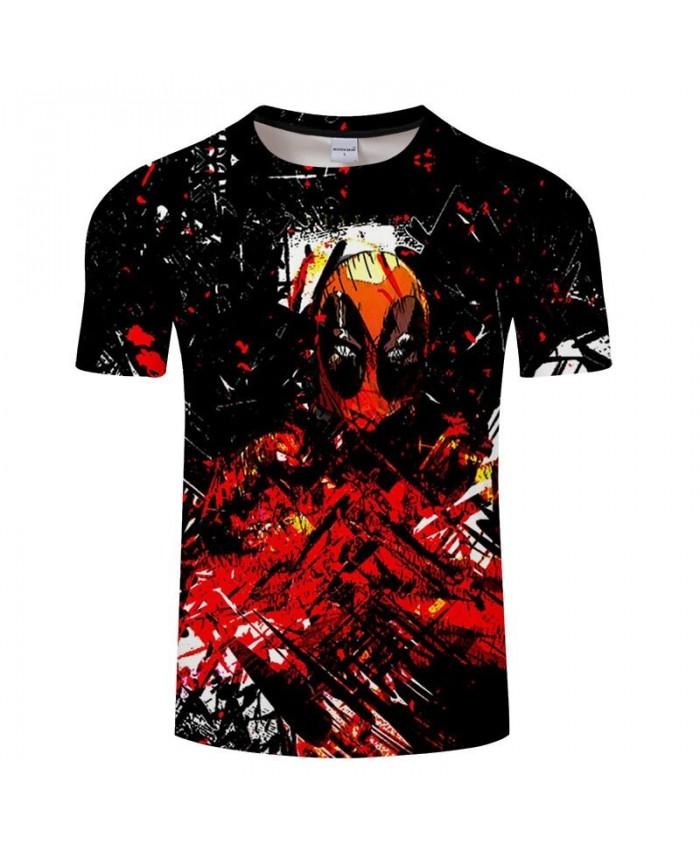Cartoon&Anime t shirt Men tshirts Short T-Shirt Spiderman Casual Tees Fashion Streetwear Tops Harajuku DropShip
