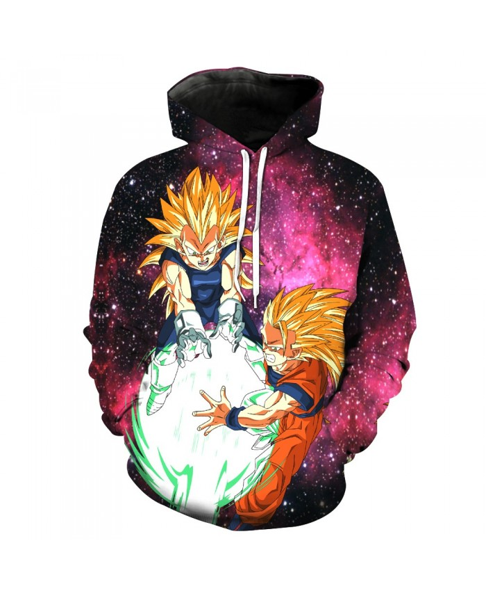 Cartoon Dragon Ball Panska Pocket Pullover Hoody Men/Women Hip Hop Print 3D Sweatshirt Character Hoodie Tracksuits S-6XL