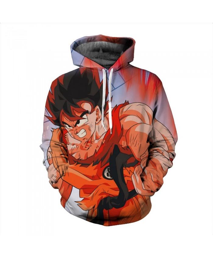 Cartoon Dragon Ball Z Hoodie Anime Son Goku Hooded 3d Printed Men Sweatshirts Harajuku Men Women Hoody Clothing Plus S-6XL