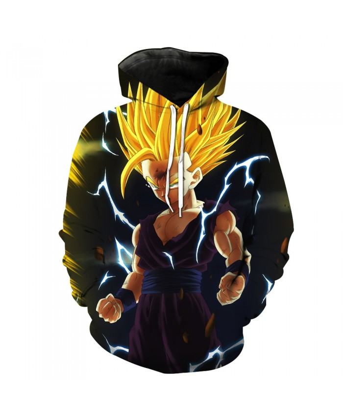 Casual Clothes Dragon Ball Z Pocket Pullover Hoody Men/Women Hip Hop Print 3D Sweatshirt Character Hoodie Tracksuits S-6XL