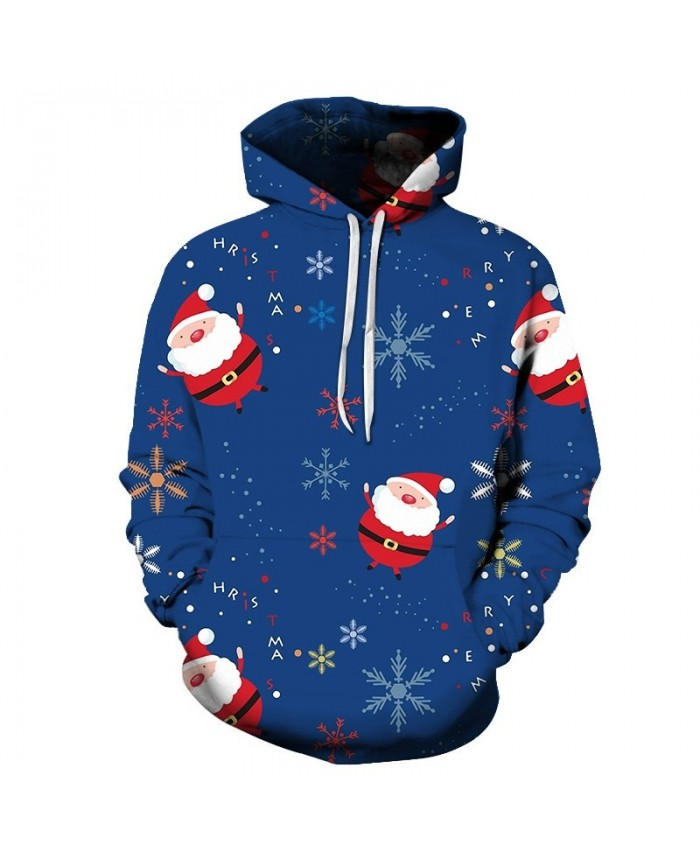 Casual Fashion 3D Hoodies Christmas Sweatshirts Sport Hoodies For Men Christmas Snowflake Drop Shopping