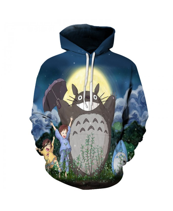 Casual Men Sweatshirts Print Hoodies Women Cartoon Pattern Tracksuits Male Fashion Tops Drop Ship 3D Pullover