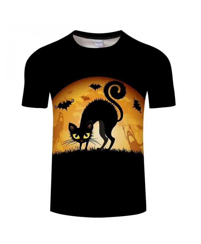 Cat A Lot Of Bats 3D Printed Men tshirt Crossfit Shirt Casual Summer Short Sleeve Male tshirt Brand Men Round Neck