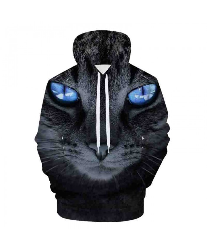 Cat Printed Art 3D Hoodies Galaxy Animals Prints Hooded Sweatshirt Cool Wolf/Lions/Bear Hoodie Pullovers Youth Harajuku Hoodies