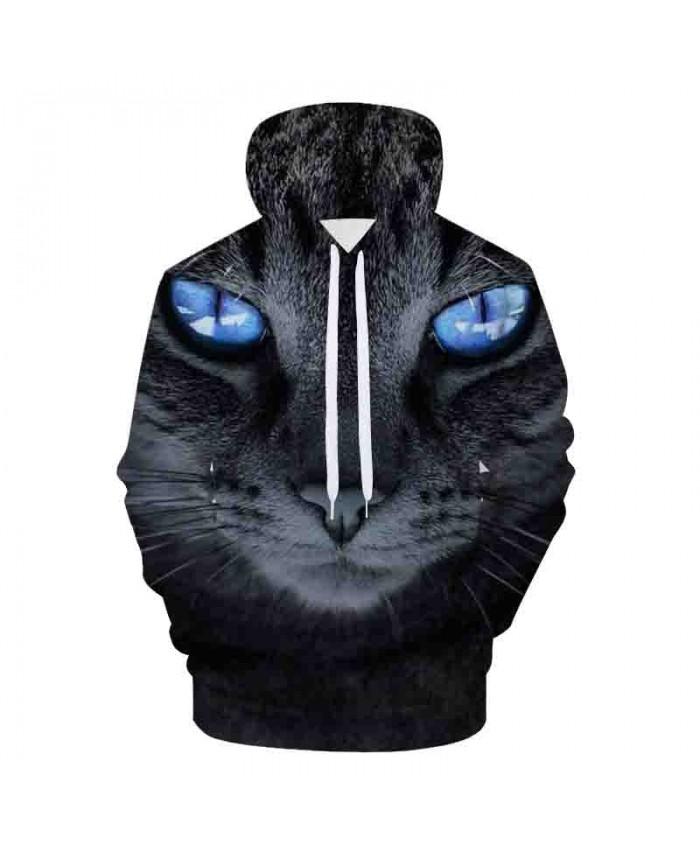 Cat Printed Art 3D Hoodies Galaxy Animals Prints Hooded Sweatshirt Cool Wolf/Lions/Bear Hoodie Pullovers Youth Harajuku Hoodies