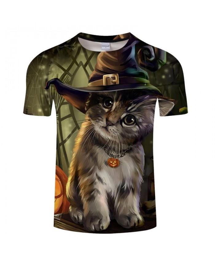 Cat Wearing A Necklace 3D Printed Men tshirt Crossfit Shirt Casual Summer Short Sleeve Male tshirt Brand Men O-neck