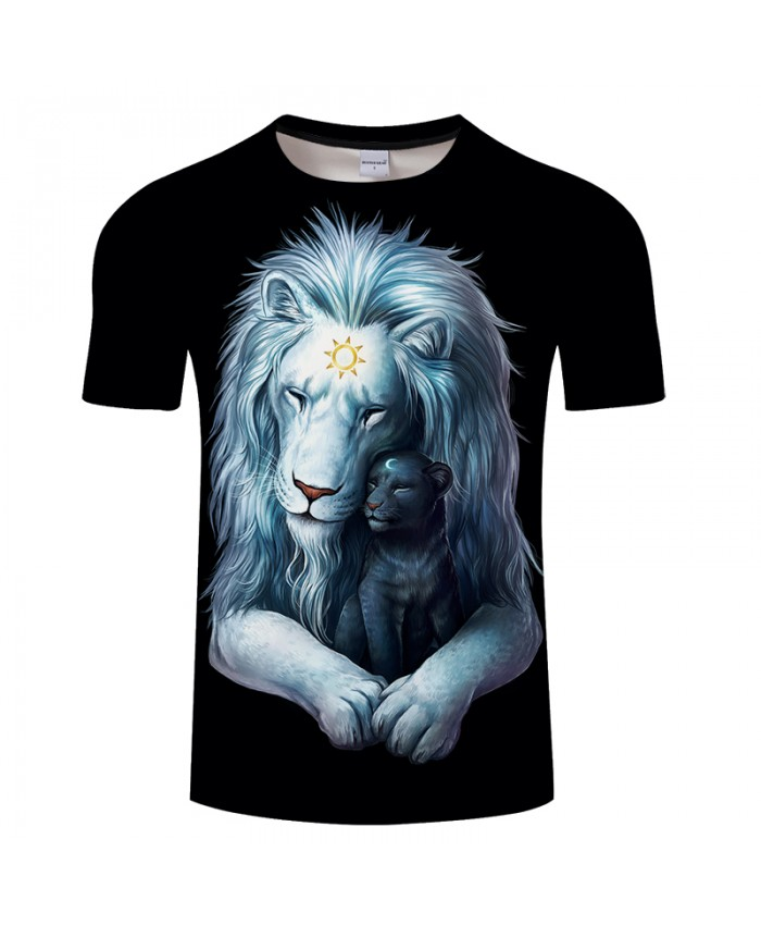 Child of Light black By JojoesArt Lion 3D Print t shirt Men Women tshirt Summer Funny Short Sleeve O-neck Top&Tee 2018 Drop Ship