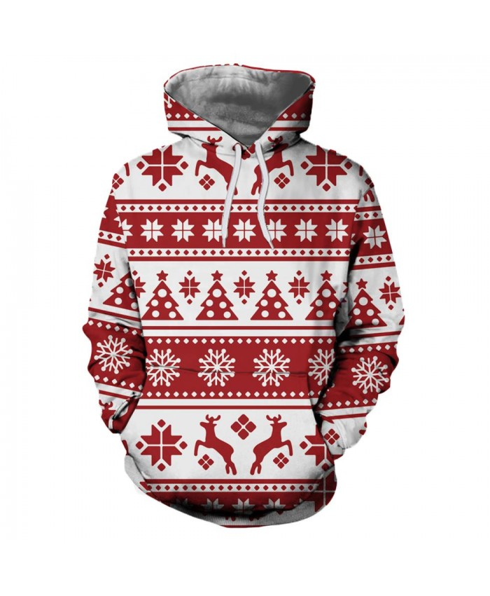 Christmas pattern Christmas Hoodies 3d Sweatshirts Men Women Hoodie Print Couple Tracksuit Hooded Hoody Clothing