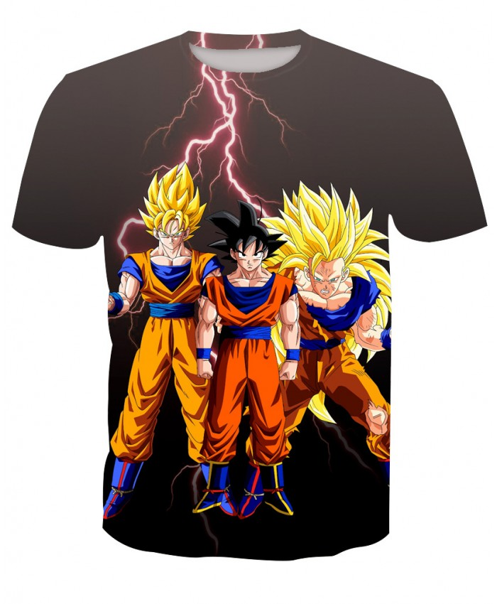 Classic Dragon Ball Z Goku Vegeta 3d t shirt Women Men Anime Super Saiyan armor t shirts summer casual tee shirts
