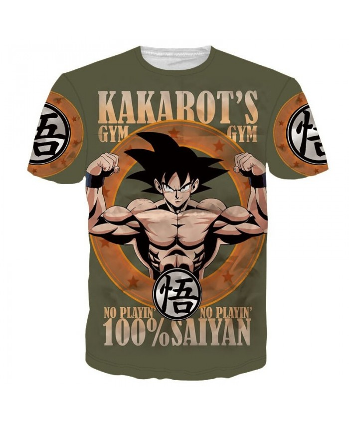 Classic Dragon Ball Z Super Saiyan 3D t shirt Funny Vegeta Wanted t shirts tshirts Women Men Summer Casual tee shirts A